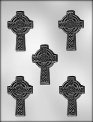 "3"" CELTIC CROSS CHOCOLATE CANDY MOLD"