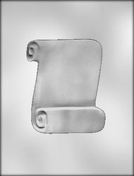 "5"" SCROLL CHOCOLATE CANDY MOLD"