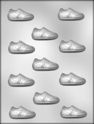 "2"" JOGGING/GYM SHOE CHOCOLATE CANDY MOLD"