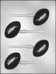 "2-5/8"" FOOTBALL SKR CHOCOLATE CANDY MOLD"