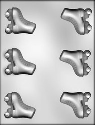 2-3/8' ROLLER SKATE CHOCOLATE CANDY MOLD