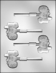 "2-1/4"" TRACTOR SUCKER CHOCOLATE CANDY MOLD"