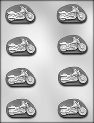"2"" MOTORCYCLE MINT CHOCOLATE CANDY MOLD"