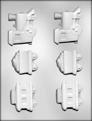 "3"" TRAIN CHOCOLATE CANDY MOLD"