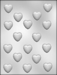 "1-1/8"" HEART CHOCOLATE CANDY MOLD"