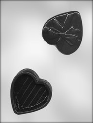 "3-3/8"" HEART BOX CHOCOLATE CANDY MOLD"