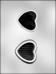 "3"" HEART BOX W/LID CHOCOLATE CANDY MOLD"