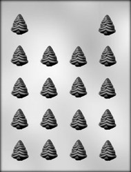 "1-1/8"" EVERGREEN TREE CHOCOLATE CANDY MOLD"