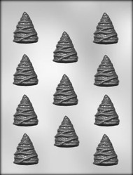 "1-3/4"" PINE TREE CHOCOLATE CANDY MOLD"