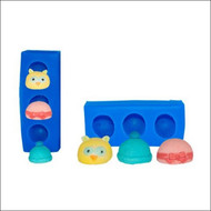 Baby Hat Set Mold--Fits Baby Mold B220-B233