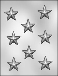"1-3/4"" STAR CHOCOLATE CANDY MOLD"