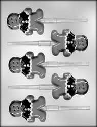 "3"" GINGERBREAD PERSON CHOCOLATE CANDY MOLD"
