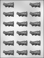 "1-3/4"" UPRIGHT RABBIT CHOCOLATE CANDY MOLD"