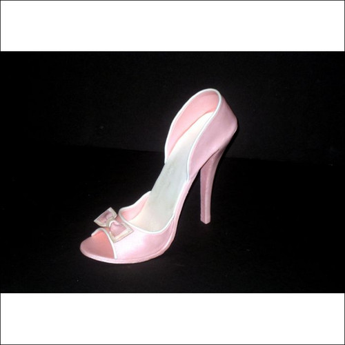 Fondant high heel shoe tutorial youtube.