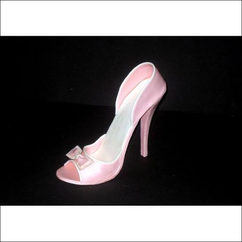 Fondant High Heel Shoe Template - Toe & Heel Strap Templates ...