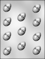"""1-5/8"""" FANCY EGG CHOCOLATE CANDY MOLD"""