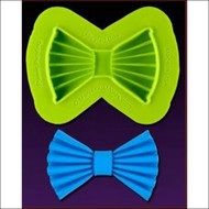 Pleated Bow--Marvelous Molds Silicone Mold