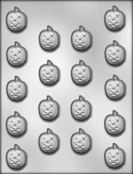 "1"" JACK O LANTERN CHOCOLATE CANDY MOLD"
