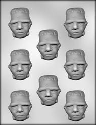"2-1/4"" FRANKENSTEIN CHOCOLATE CANDY MOLD"