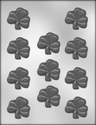"2"" SHAMROCK CHOCOLATE CANDY MOLD"