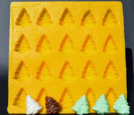 "1-1/4"" TREE YELLOW FLEXIBLE MOLD"