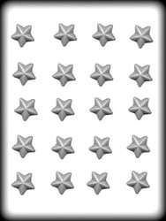 "1"" STARS HARD CANDY MOLD"