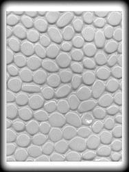 COBBLESTONE FOR GINGERBREAD OR HARD CANDY MOLD