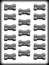 "1-5/8"" DOG BONE H.CANDY MOLD"