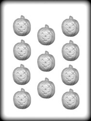 "1-1/2"" JACK O LANTERN HARD CANDY MOLD"