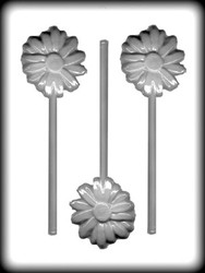"2-3/4"" DAISY SUCKER HARD CANDY MOLD"