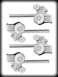"2-1/2"" TRACTOR SUCKER HARD CANDY MOLD"