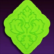 Damask Medallion Onlay by Marvelous Molds