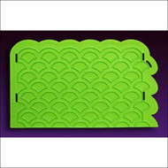 Scalloped Lattice Onlay by Marvelous Molds