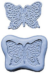 "SILICONE MOLD-2 3/4"" BUTTERFLY"