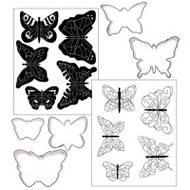 COOKIE CUTTER TEX. SET-BUTTERFLY