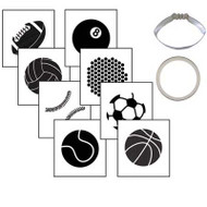 COOKIE CUTTER TEX.SET-SPORTS BALL