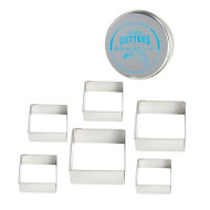 CUTTER SET-SQUARE--Overstock
