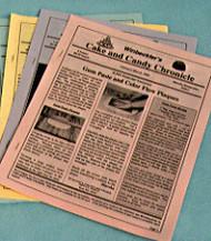 October-November 01--Winbeckler's Cake and Candy Chronicle Newsletter