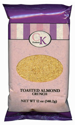 CRUNCH 12 OZ-TOASTED ALMOND