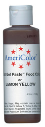 SOFT GEL PASTE 4.5OZ LEMON YELLOW