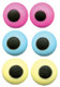 "ICING EYES 3/8"" ASST. COLORS--BOX/1000"