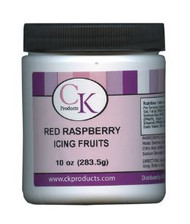 10 OZ ICING FRUITS-RED RASP.
