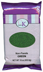 16 OZ NON-PAREILS GREEN