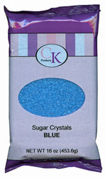 16 OZ SUGAR CRYSTALS-BLUE