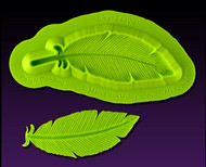 Small Feather Mold--Marvelous Molds Silicone Mold