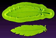 Large Feather Mold--Marvelous Molds Silicone Mold