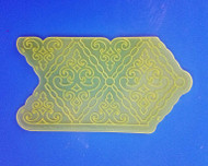 Filigree Damask Pattern Onlay by Marvelous Molds