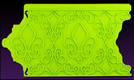 Fleur de Lis PatternPattern Onlay by Marvelous Molds