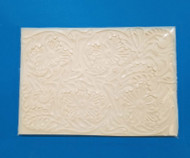 "Small Tooled Leather Texture Mat--Silicone--6-1/4"" x 4-3/8"""