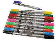 KOPYKAKE 2-SIDED FOOD COLOR PENS-FILLED  10/SET